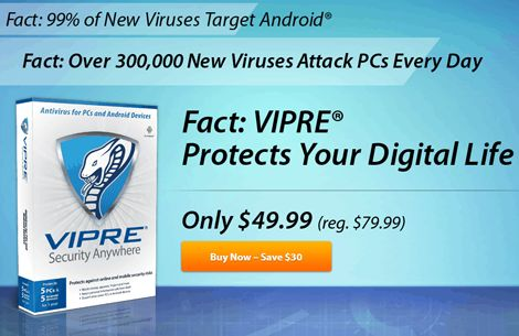 VIPRE Security Anywhere Discount!