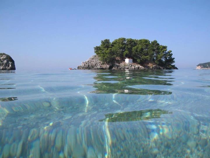 Isle of Panagia , Parga