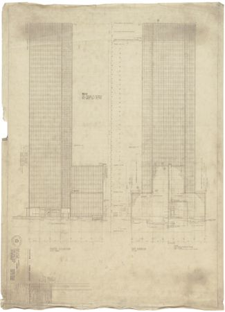 Seagram Building - Elevations - Mies van der Rohe
