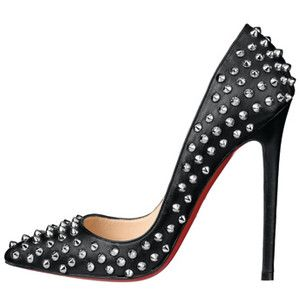 christian louboutin Pigalle pumps Black leather studs