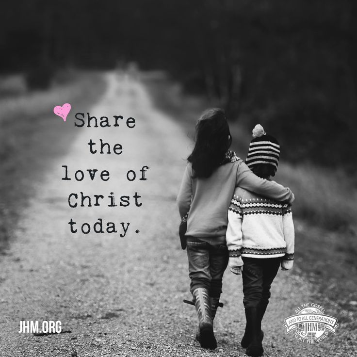 Be willing to love others who are different than you. Strive to be the blessing, and when someone needs love, show the love of the Lord to them. In this way we represent Christ.   #God #Love #Christ #GodsLove #GodIsLove #LoveOthers #ShareLove