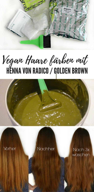 Meine Erfahrung mit den Pflanzenhaarfarben (Henna) von Radico. Vegan Haare färben, Golden brown, longhair, lange Haare, rote Haare,