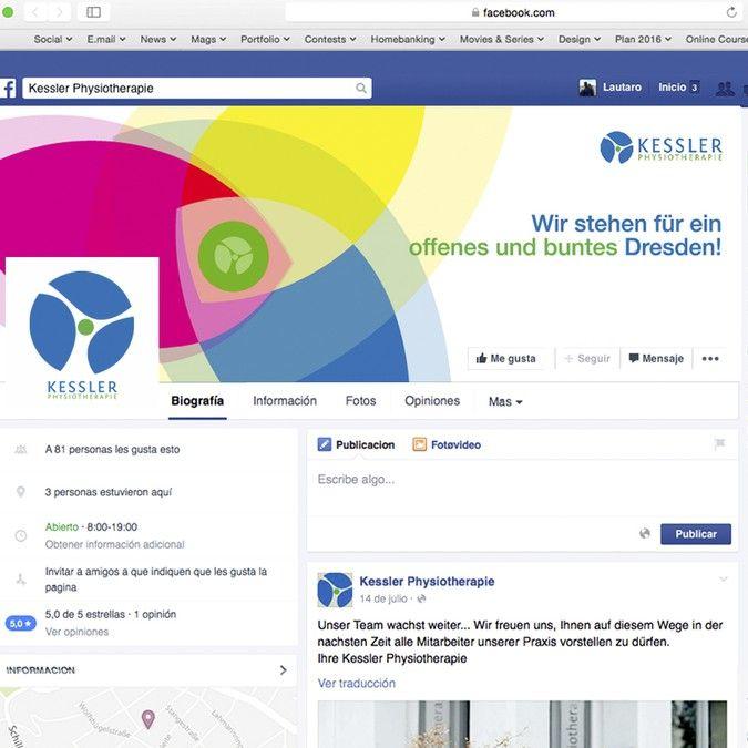 Facebook Titelbild für Praxis gesucht, Thema: Ein weltoffenes Dresden by LEFTRARU