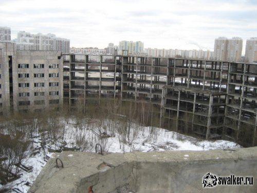 Недостроенная психиатрическая больница - Москва