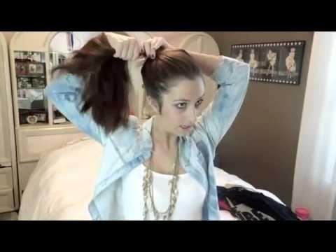 Dağınık Saç Topuzu Yapmanın 3 Yolu [Makyaj Styla] - YouTube