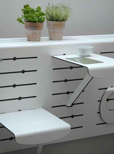 Modular Small-Space Balcony by Christian Lessing