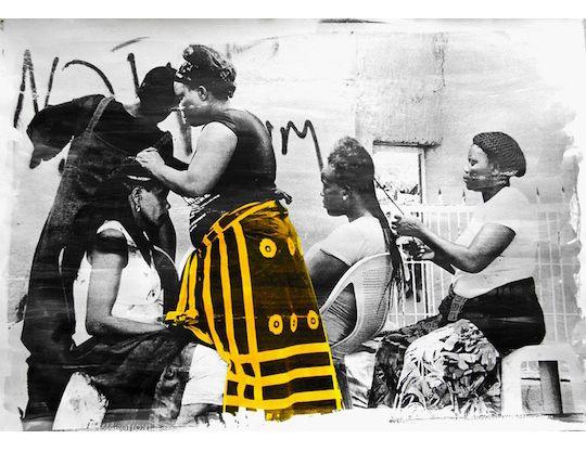 Tiwani Contemporary: Exhibitions: The View From Here | Andrew Esiebo, Délio Jasse, Lebohang Kganye, Namsa Leuba, Mimi Cherono Ng'ok, Abraham Oghobase and Dawit L. Petros