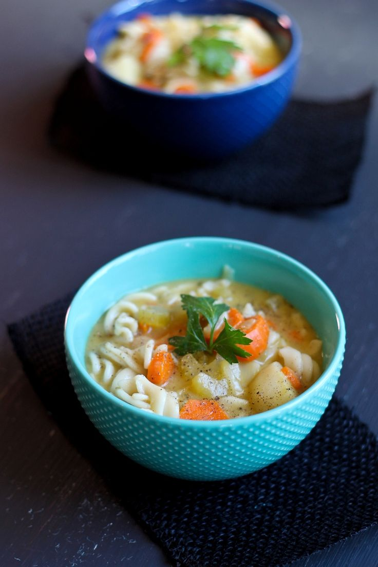 Classic Vegan Noodle Soup…..and The Vegan 8 is 1 Year Old