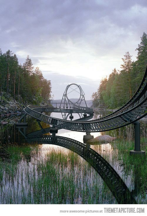 This is just awesome looking!  I want to go on it!  The World's Largest Theme Park…