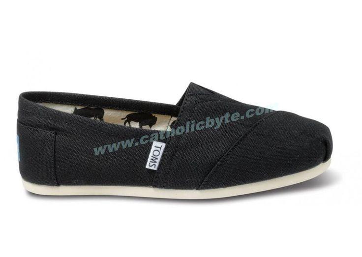 Cheap Womens Black Toms Shoes