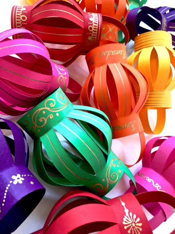 South Asian Flavors Ramadan/Eid Lanterns! Would be gorgeous for a Mehndi night, Chand raat, Ramadan, or Eid!