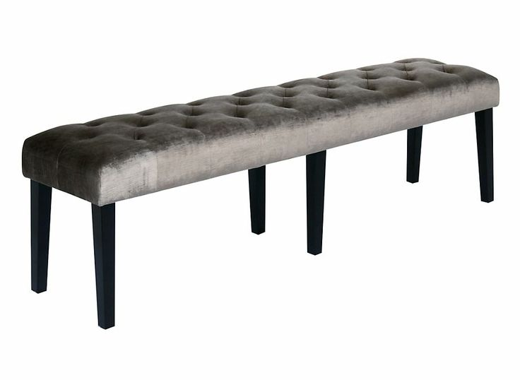 Lola Bench - Pewter Gold | Ottomans-benches | Furniture | Z Gallerie