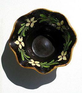 Ancienne-poterie-savoyarde-vernissee-Coupe-Saladier-Diametre-25cm