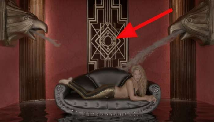 Shakira le da la bienvenida a Maluma al mundo Illuminati en su vídeo Chantaje | Divertido Viral