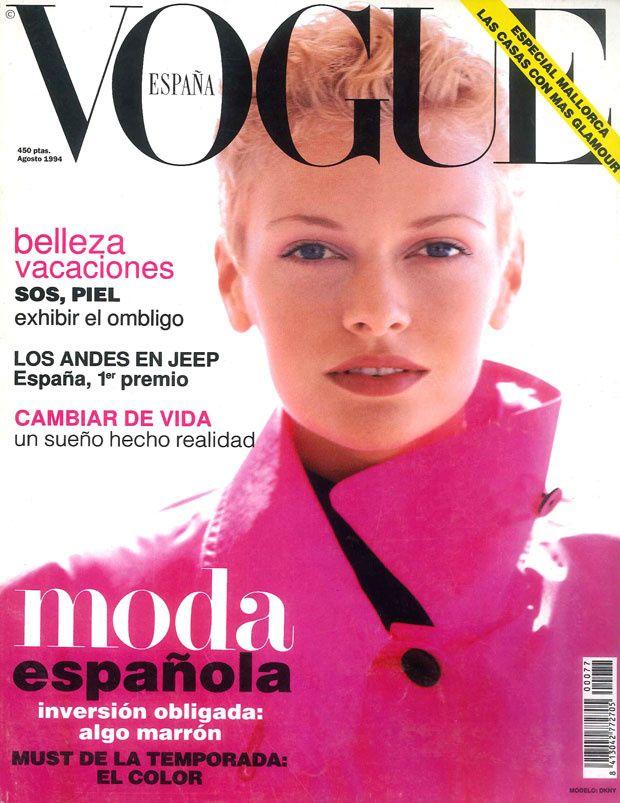 Sarah Murdoch Vogue España August 1994