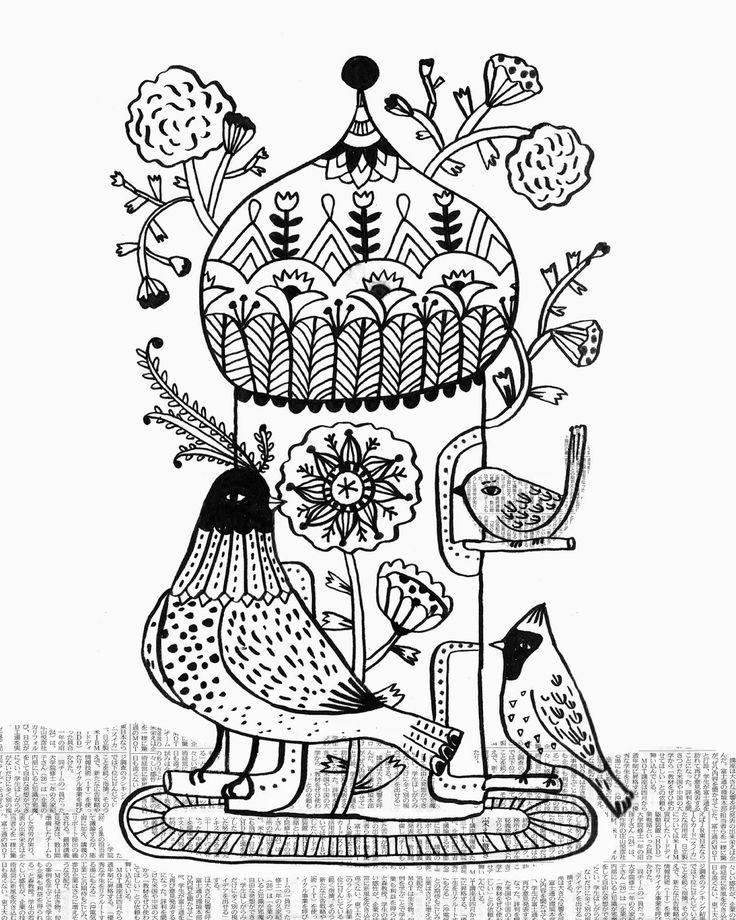 Image result for folk art painting patterns