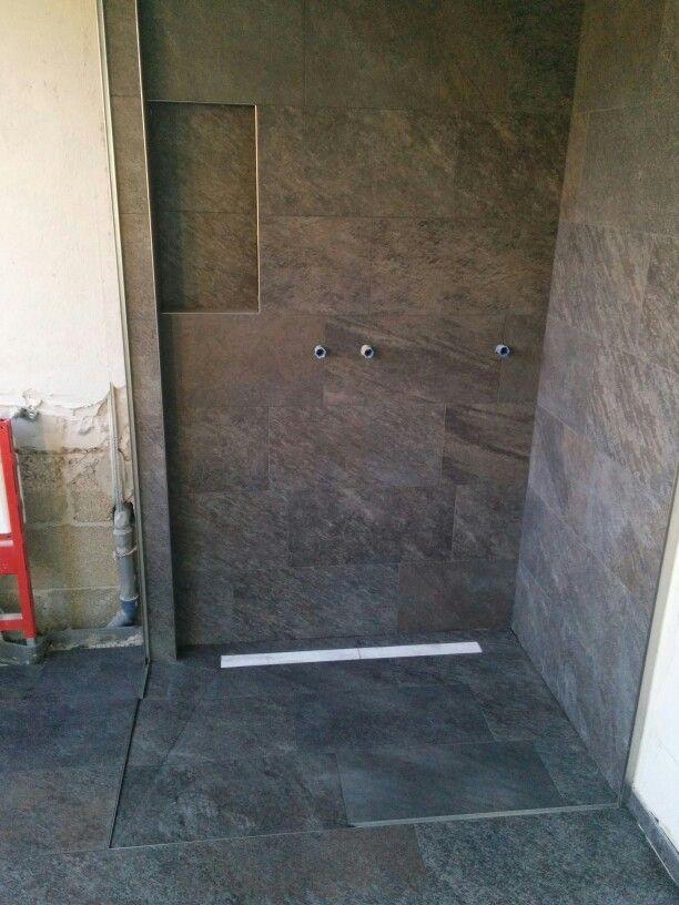 Bodengleiche Dusche Fliesenarbeiten Von Jorg Pinterest