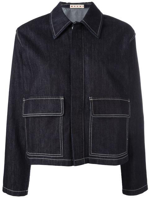 Marni джинсовый пиджак