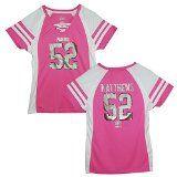 Green Bay Packers Clay Matthews Pink Draft Him IV Womens Jersey