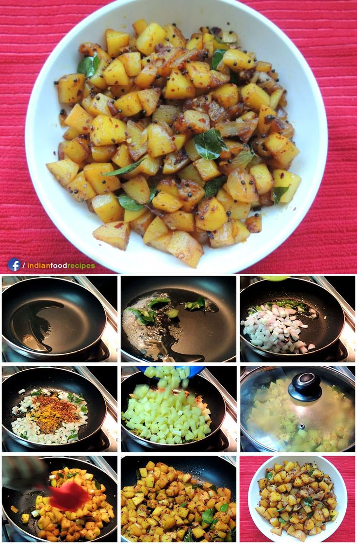 673 best all indian food recipes step by step pictures images on spicy potato roast kerala style recipe step by step pictures forumfinder Choice Image
