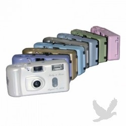 Personalized Wedding Cameras ON SALE!    ********PEARL WHITE & SILVER OUT OF STOCK UNTIL END OF MARCH********* Personalized Wedding CamerasAdd a personal touch to your wedding day...    Retail Price: $11.90  Our Price: $5.95  Save