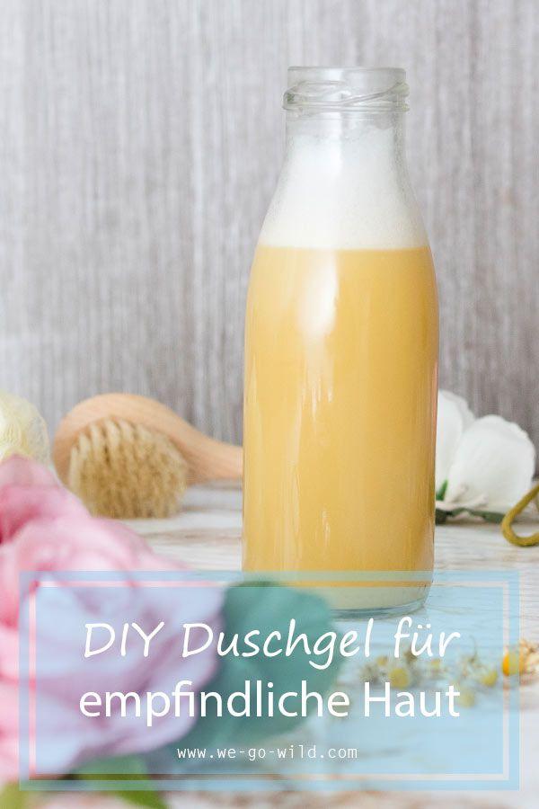 Du möchtest Duschgel selber machen? Hier erfährst du, wie dir dein DIY Duschge…