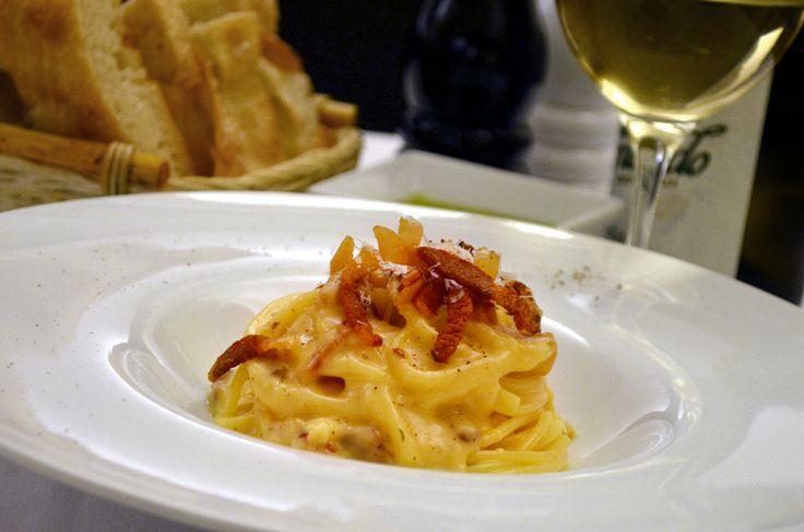 Restaurant Bresto - new menu 2017 - SPAGHETTI GRAGNANO alla carbonara