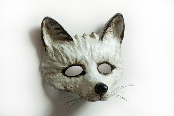 Fox mask is an unique piece of very wearable art. Wear it to a party and youll certainly stand out and Im sure youll get no end of compliments.
