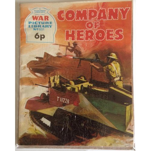 War Comic Picture Library #851 Action Adventure Fleetway