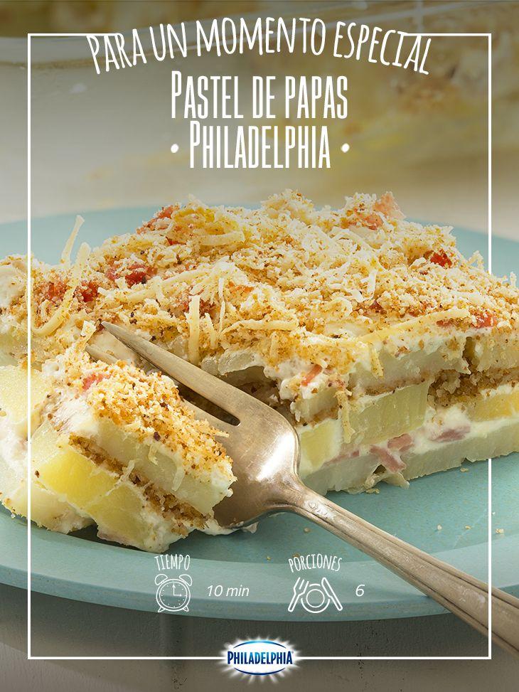 Con este delicioso Pastel de papas enamorarás a tu familia. #VuelveACasa y disfrútalo.