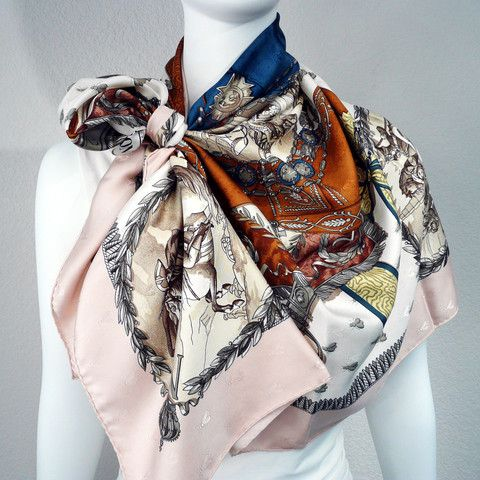 Cashmere Silk Scarf - My Everlasting Love - 4 by VIDA VIDA R4oil5SLU
