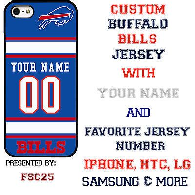 Custom BUFFALO BILLS Phone Case Cover w Your Name & Jersey Number IPhone - http://phones.goshoppins.com/phones-cases/custom-buffalo-bills-phone-case-cover-w-your-name-jersey-number-iphone/