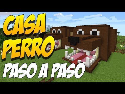 COMO HACER UNA CASA PERRO PASO A PASO - Construccion En Minecraft - YouTube
