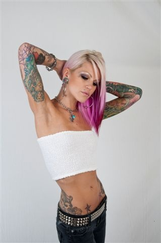 #sexy #tattoos #hair #piercings #clothes #accessories #gases