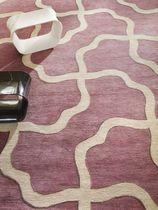 Traditional rug / linen / silk / wool