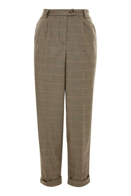 TALL Young Check Mensy Trousers