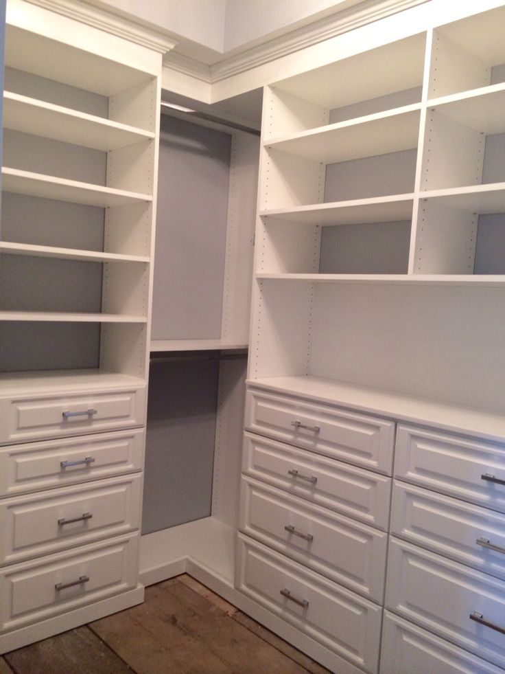 White Walk In Closet Closets By Design  Boston Carolyn Scarinci