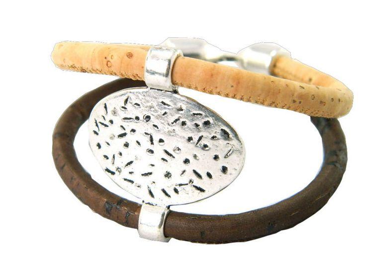 Купить Португалия корк браслеты, Oround сплава марки браслет, 100% натуральной пробки ручной работы, Окружающая среда   чистых материалови другие товары категории Браслеты-талисманыв магазине MB CorkнаAliExpress. пробку флакона и пробки обуви