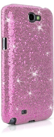 Every girl deserves to be treated as a Princess ❤ (Princess Pink) Glamour & Glitz Galaxy Note 2 Case@BoxWave