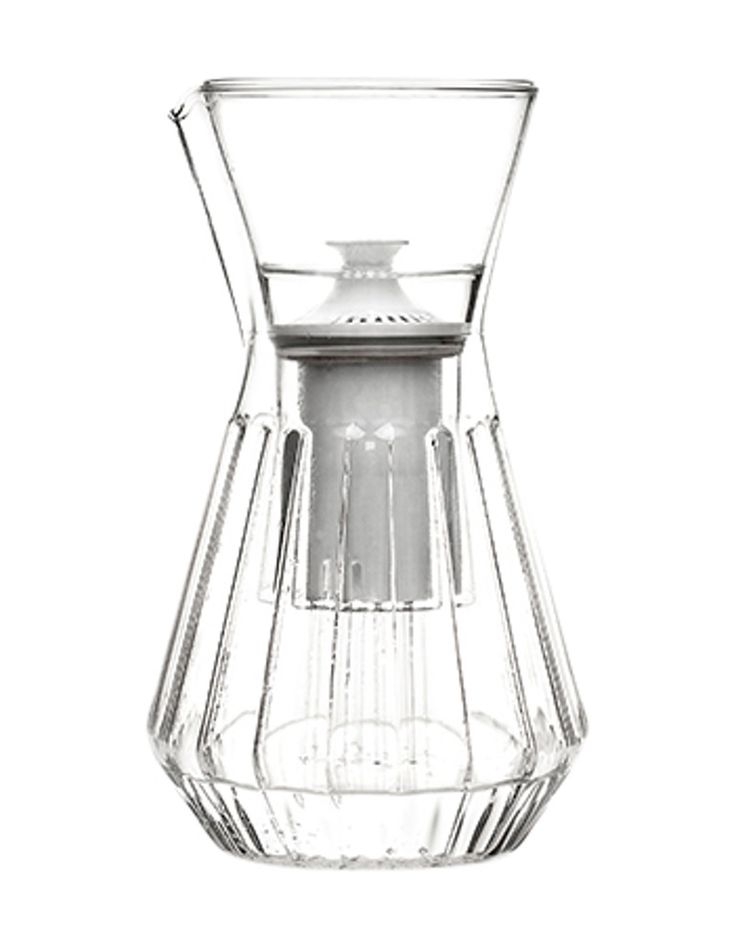 Fferrone Talise Carafes  Contemporary, Industrial, Modern, Organic, Glass, Tabletop by Kneen  Co