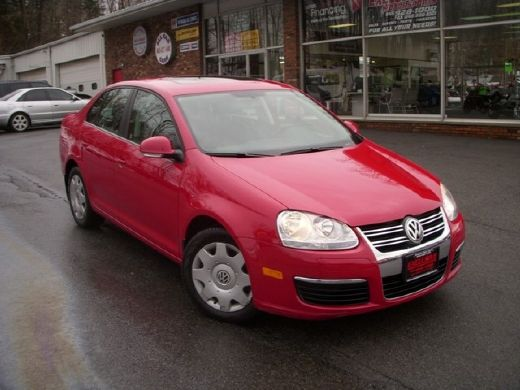Volkswagen Jetta red used of the 2007 at Central Valley, NY, 10917
