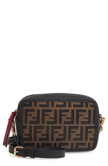 9048e87b1e Beautiful Fendi Mini Logo Embossed Calfskin Leather Camera Bag Women s Fashion  Handbags.   1290  findanew from top store