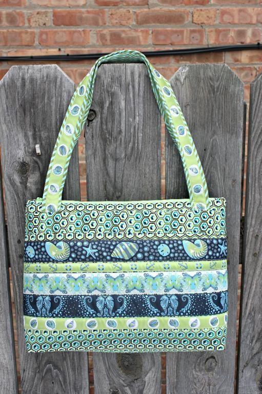 Free Pattern: 'Sewing : Arabesque Bag