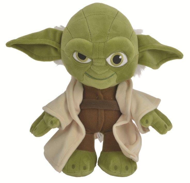 Peluche Star Wars Maître Yoda 17 cm