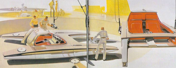 sleekfuture:  Syd Mead