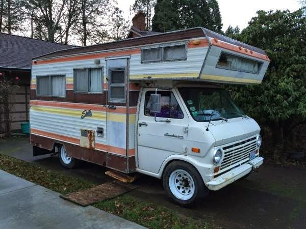 Auto Rv Buy And Sell Used Cars Trucks Rvs And More: Used RVs 1970 Ford Econoline 300 Shasta RV