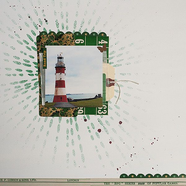 Ideas for Emerald Green on Scrapbook Pages   Harmony and Elegance   Amanda Jones   Get It Scrapped