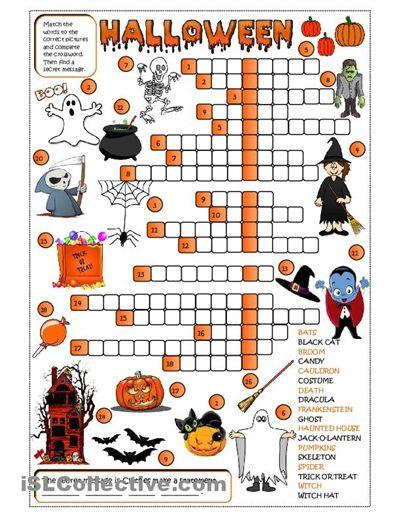 Halloween Worksheets High School | halloween worksheets printables high school Car Pictures