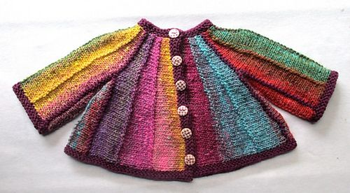 Ravelry: Kawaii Cardi pattern by Rian Anderson. Newborn to 2 years