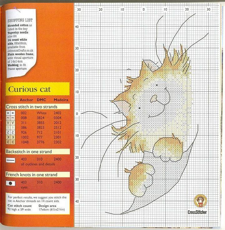 Curious Cat - Gallery.ru / Фото #26 - Забавные схемы - elena-555 http://elena-555.gallery.ru/watch?ph=boYc-dCGLg